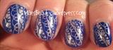 Cobalt & Holo lace