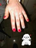 Milano Red Medauda E Glitter Silver