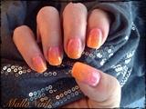 Pink-orange flowers