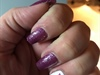 Purple Mania Gel With Flower