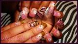 Pink&Gold Zebra