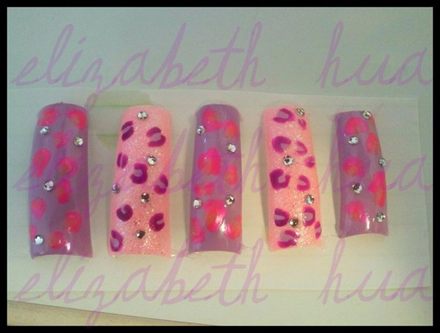 Pink&Lavender Cheetah