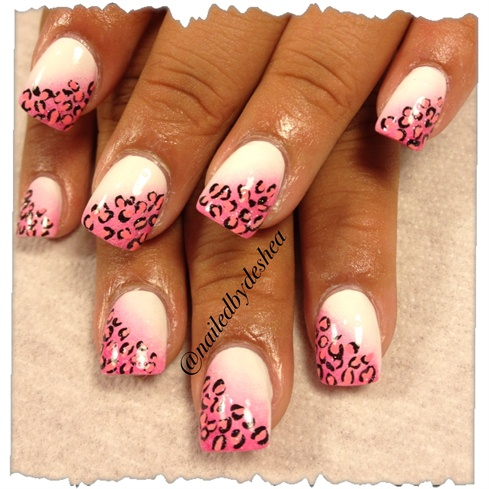 Ombre leopard