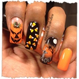 Pumpkins n graves n candy ohmy!