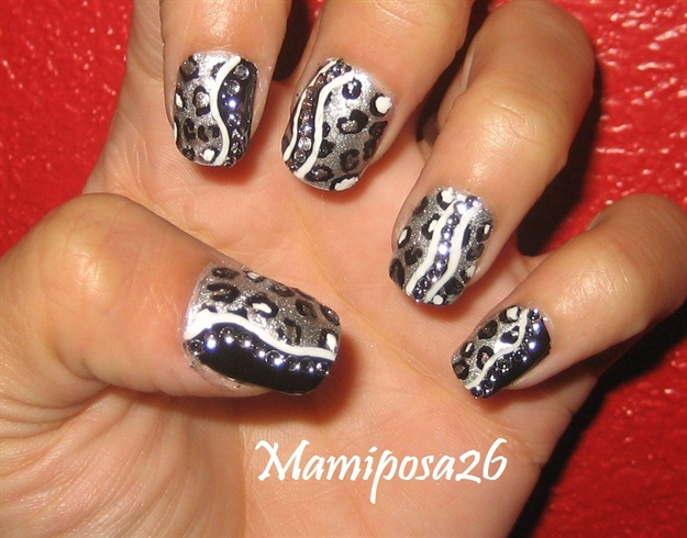 leopard nail design - Leopard Nail Design - Nail Art Gallery