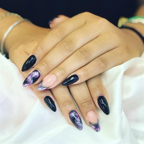 galaxy design  nail art gallery