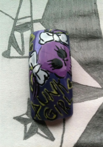 Purple Punk Princess