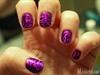 Purple Holographic Swirls