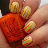 Striped Tip Manicure
