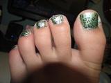 Confetti Toes :)
