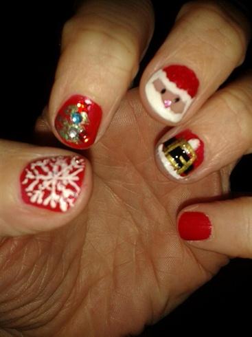 My best friend christmas nails nail art gallery my best friend christmas nails prinsesfo Image collections