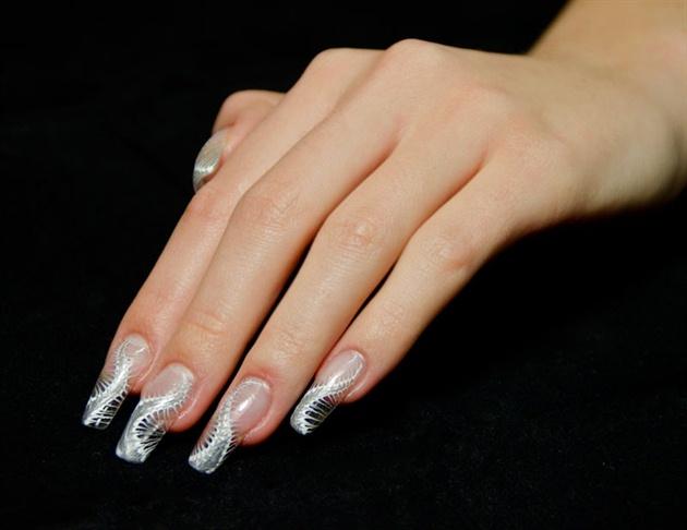 Express Gel nail art