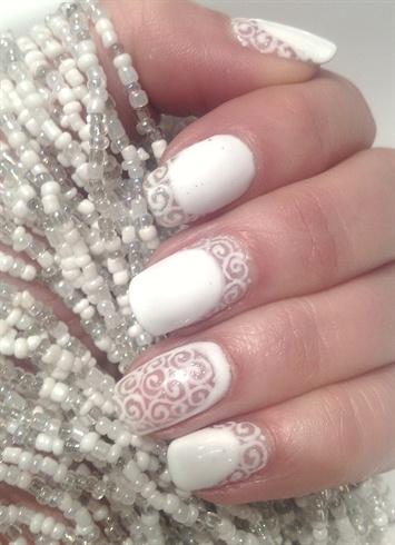 Shield Gel Polish Nail Art