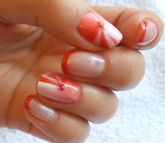 Super Polish Gel nail art