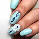 3D acrylic nail art