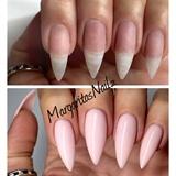 Natural Nails With Hard Gel