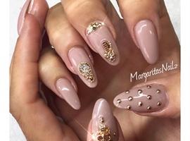 nail art: Nude
