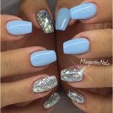 Blue & Silver