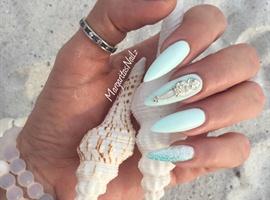 nail art: Ocean Nails