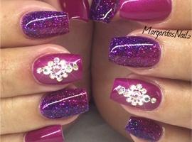 nail art: Purple 💜
