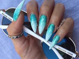 nail art: Icy Stilettos
