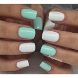 White&Mint Matte