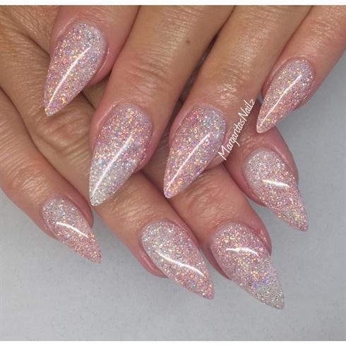 glitter nails nail art gallery
