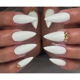White Stilettos