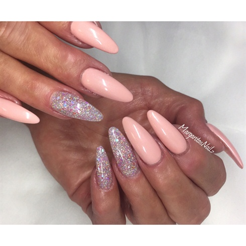 Long Oval Fashion Nails  Nail Art Gallery