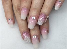 nail art: Natural Ombré Nails