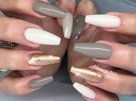 nail art: Coffin Nails