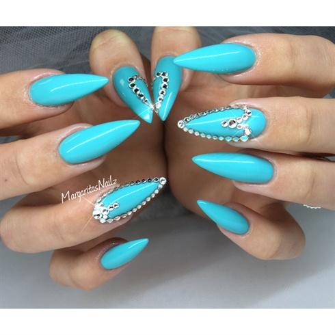 Ocean Blue Stilettos