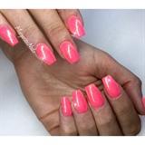 Summer Glitter Nails