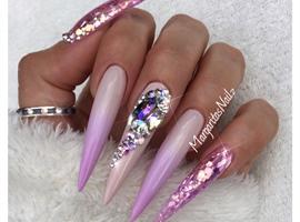 Lavender Ombré Stilettos