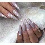 Shimmery Glitter Nails