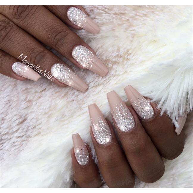 Glitter Ombré Nails - Nail Art Gallery
