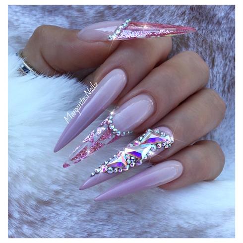 summer stiletto nails  nail art gallery