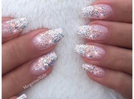 nail art: Glitter Ombré