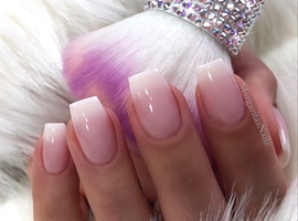 Natural Ombré Nails
