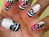 Black&White manicure