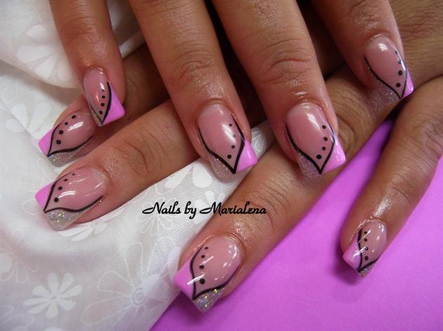 pink /dots
