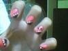 pink&black w/ small ribbon