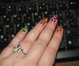 Summer neon leopard