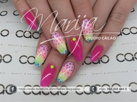 nail art: k