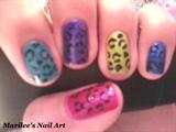 Colorful Leopard Print