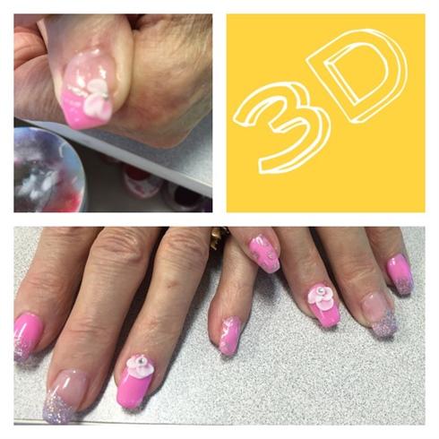 Pink,sparkle,&3d