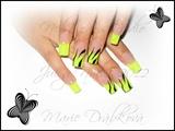 Neon yellow...