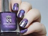 London NYE Fireworks inspired nails