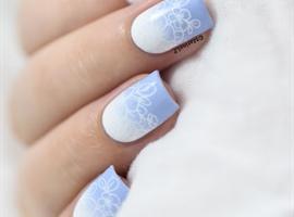 Fading floral gradient tutorial