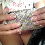 wedding nails 2012
